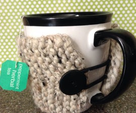 Button Loop Coffee Cozie