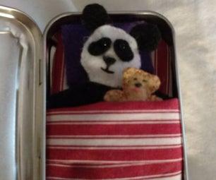Portable Pocket Friend ( Altoids Tin Panda Bear)