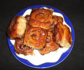 New Orleans Style Cinnamon Rolls
