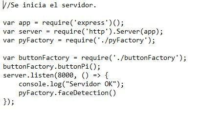 Código Para La Raspberry