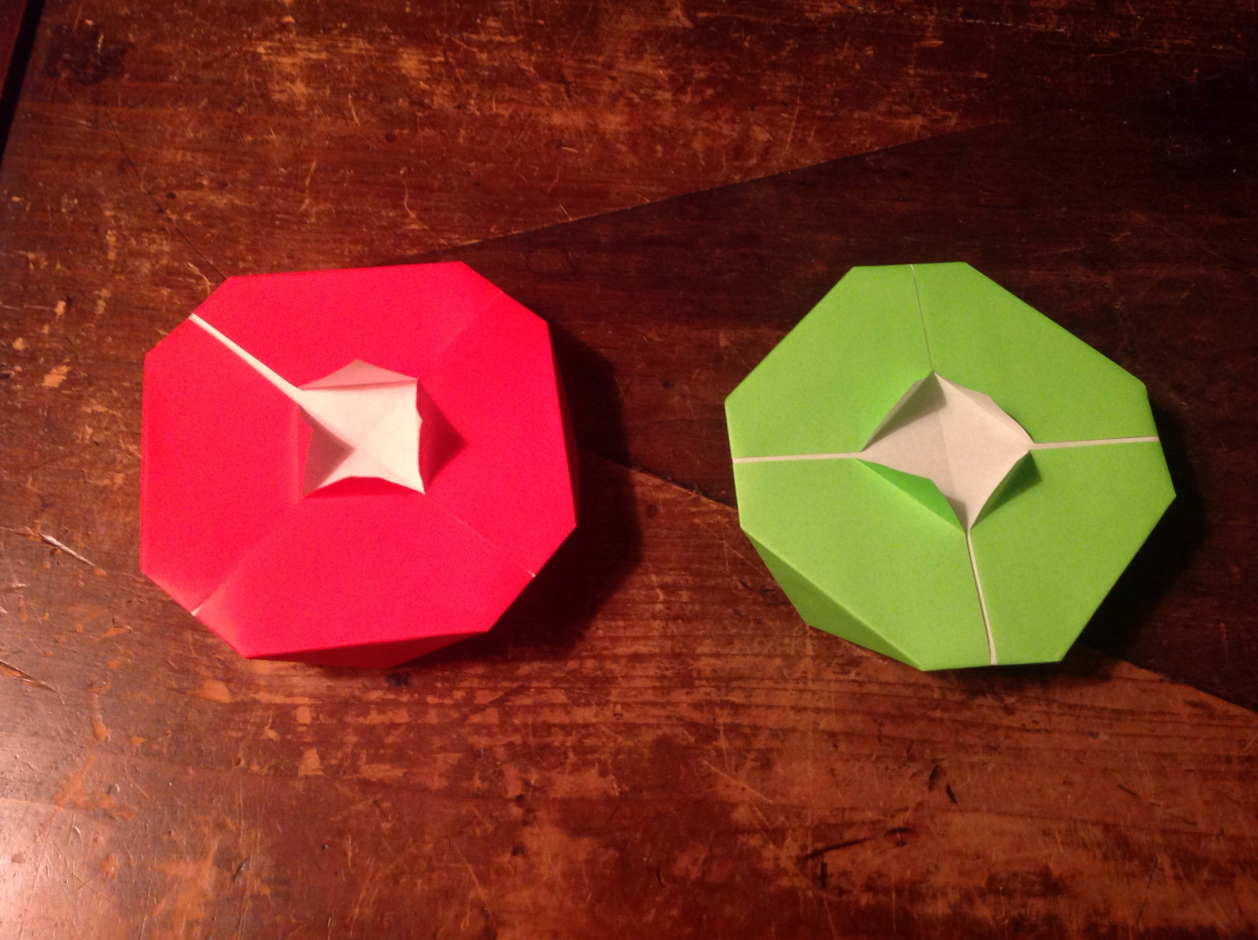 Picture of Origami Flying Saucer (really Flies)