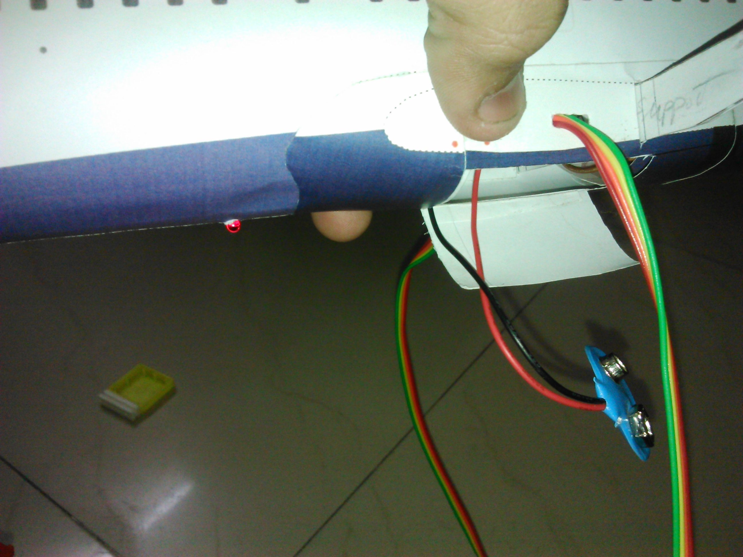 Picture of Select the Place Where You Want You to Place the CIRCUIT Board, BATTERY, Switch.