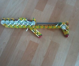 Knex Mag-fed Grenade Launcher
