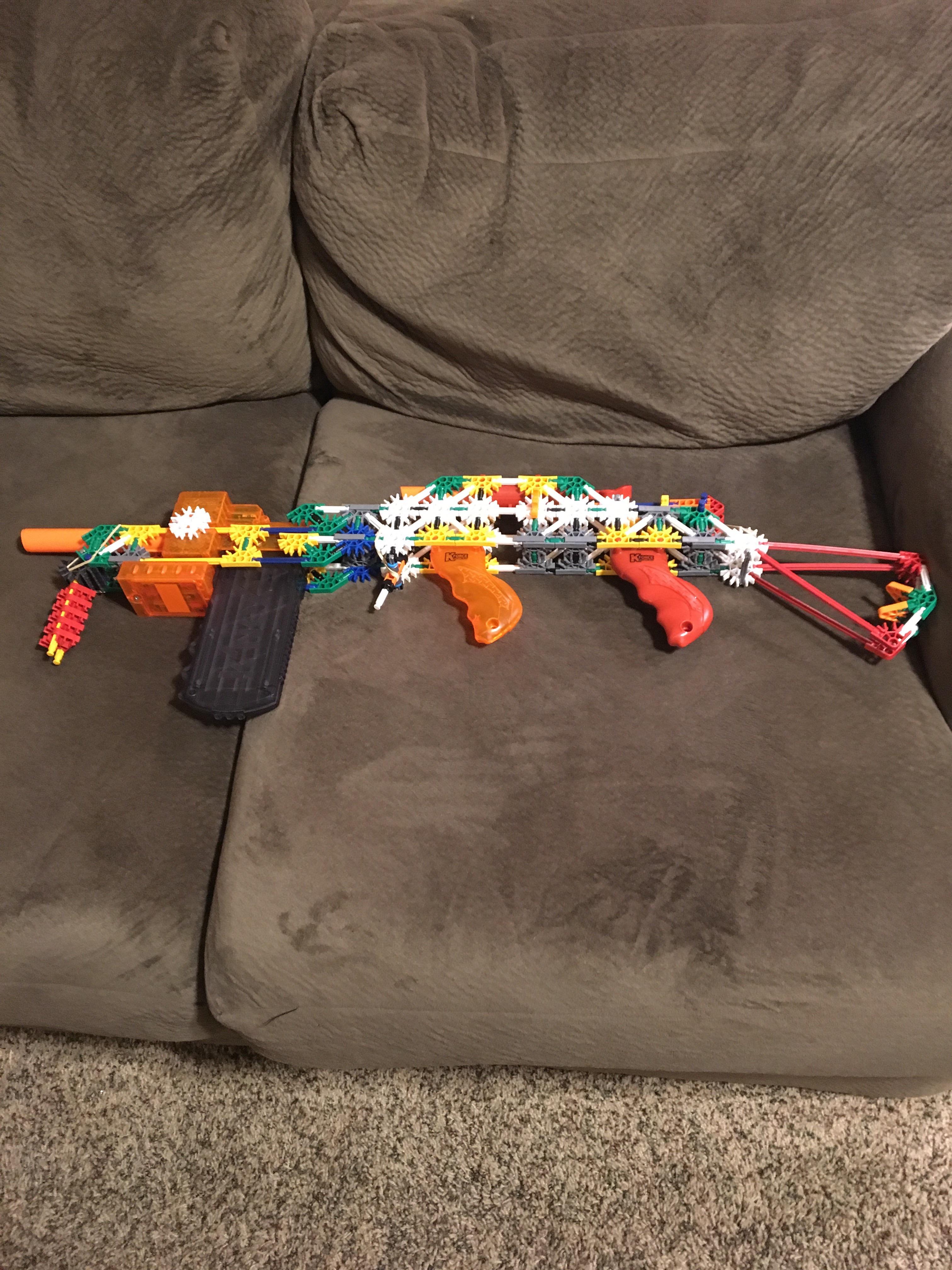 Picture of Knex Kforce Mega Assult Rifle (KKFMAR)