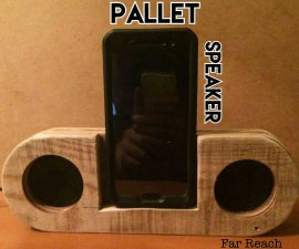 DIY Simple Pallet Speaker