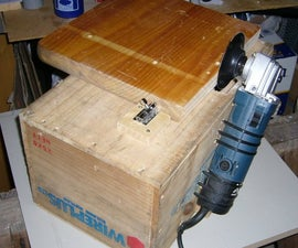 Fixed Disc Sander from Angle Grinder