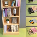 Mini Digital Library Bookcase