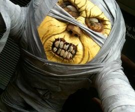 Evil Mummy Pumpkin