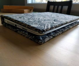 DIY Laptop Folio Book Case (Zelda / Mario Edition). No sewing needed¡