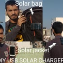 DIY SOLAR JACKET(Usb Phone Charger)