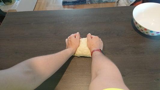 Move the Dough to the Countertop