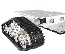 Installation for the Aluminum Alloy Full Metal Tank Chassis T300