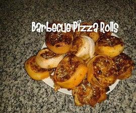 Barbecue Pizza Rolls Recipe