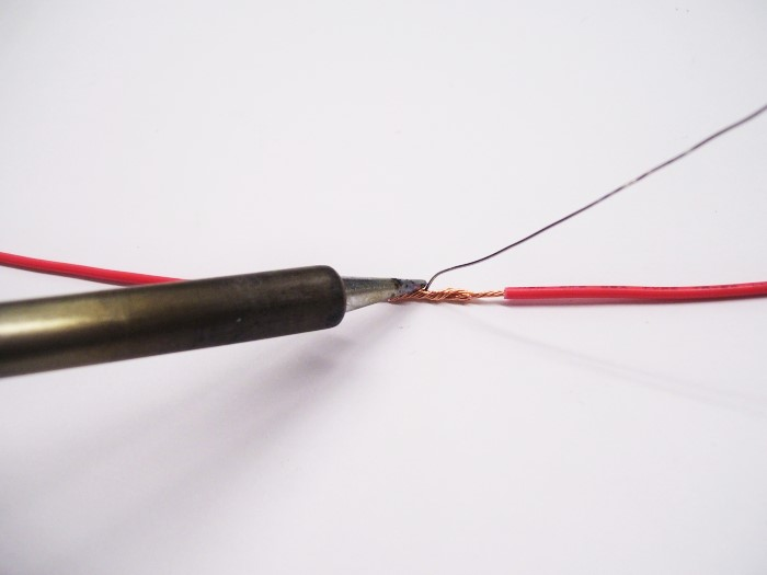 Picture of Soldering & Fixing the Wiring