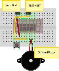 Picture of Breadboard Layout and Assembly