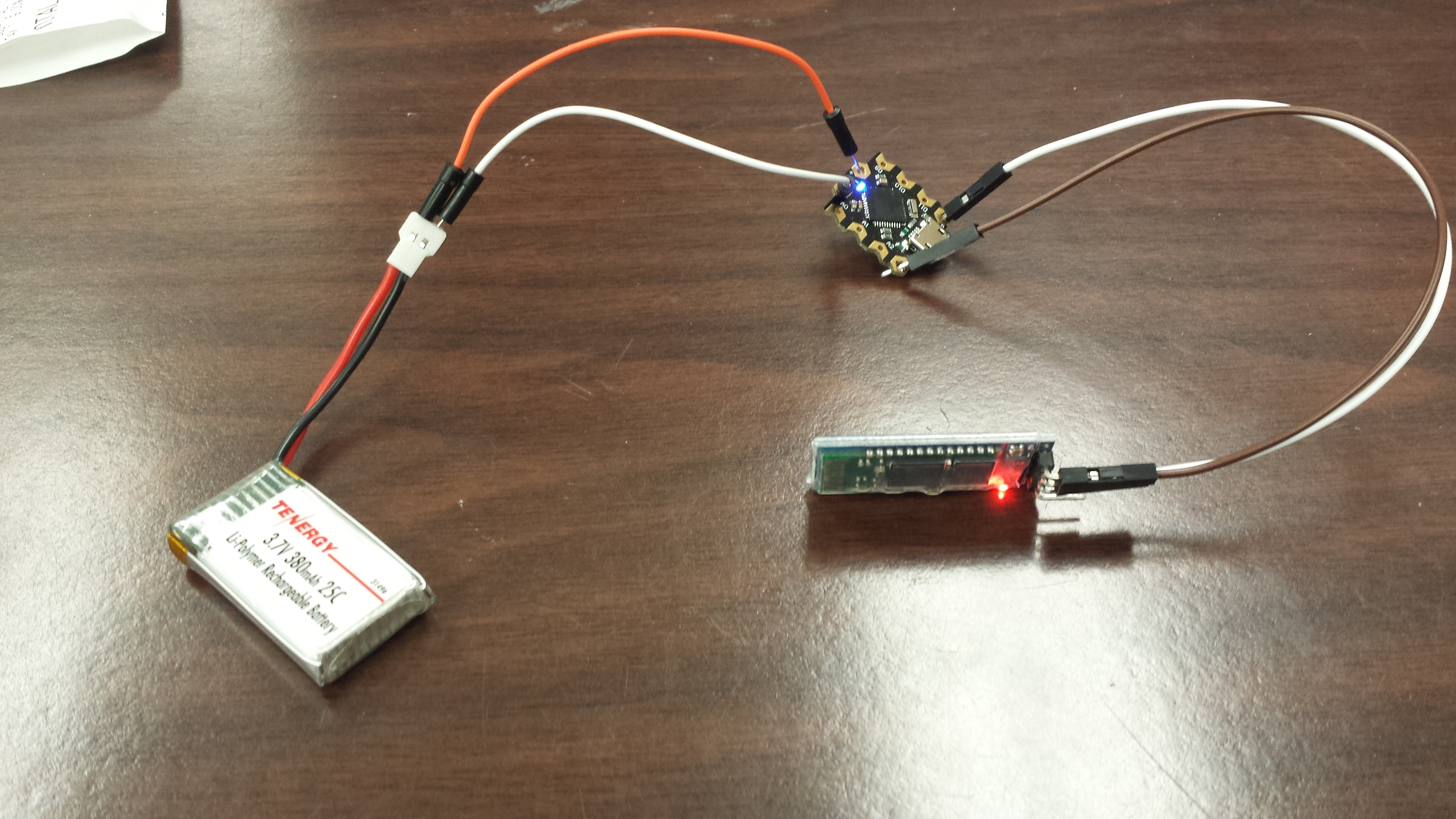 Picture of Powering Beetle and Bluetooth