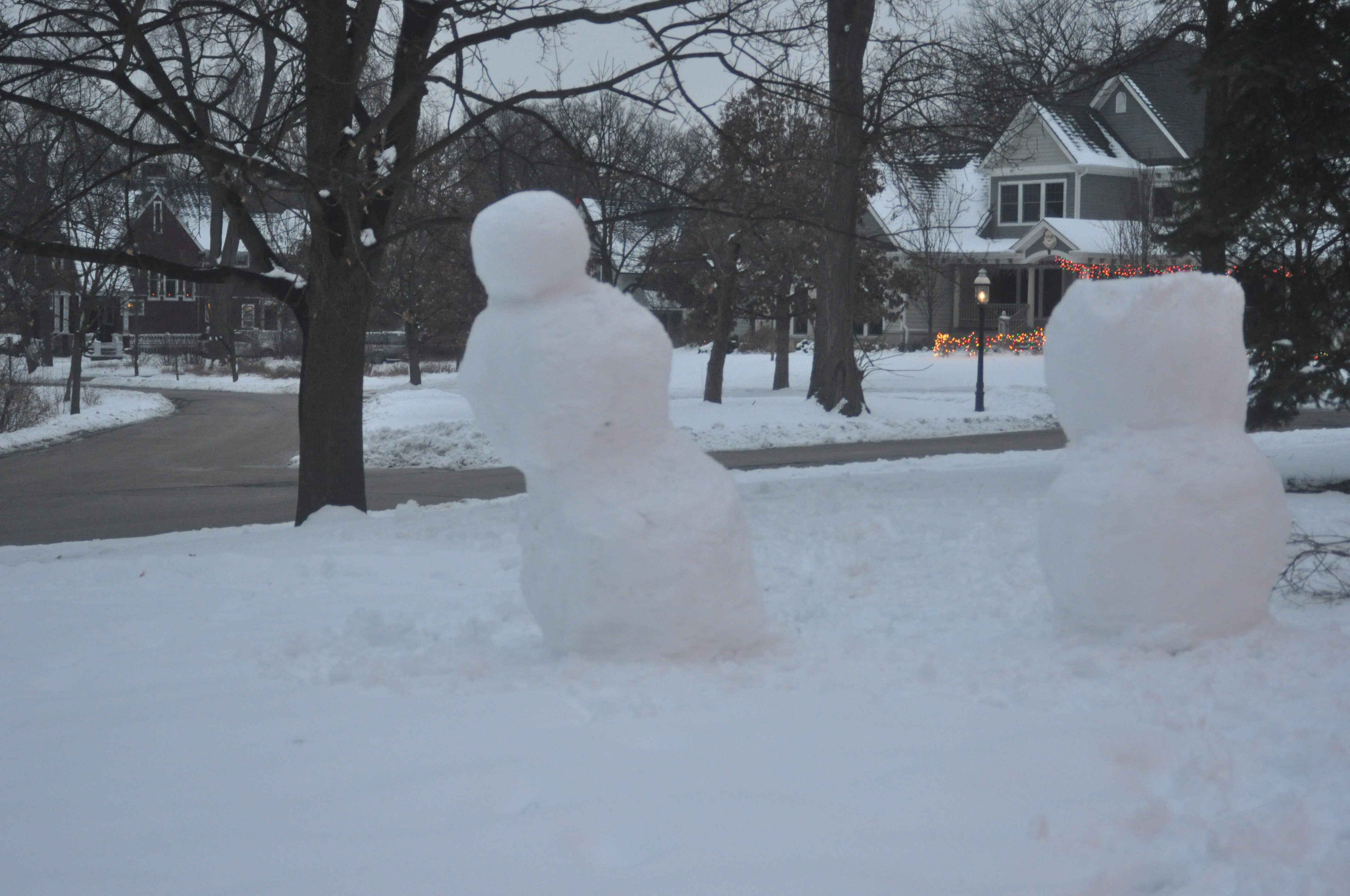 Picture of Making the Bowling Snowman