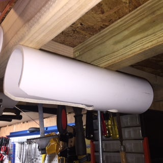 How to Make Cordless Driver Holder From PVC Pipe