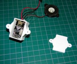 Car / motorcycle or bicycle wireless 2.4ghz alarm range 500m 10$ budget
