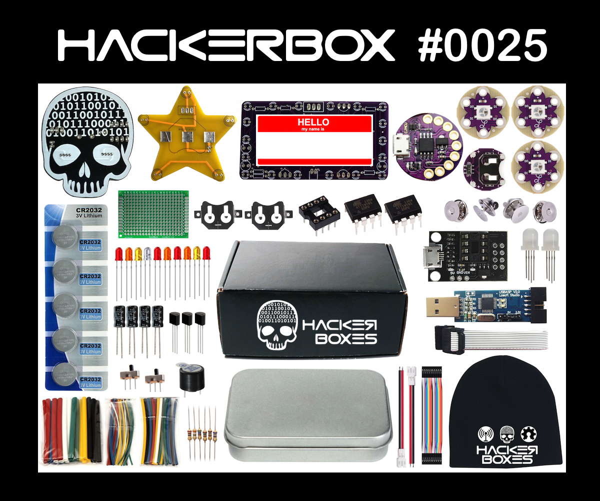 Picture of HackerBox 0025: Flair Ware