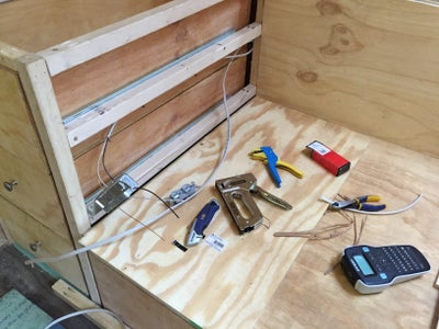 Interior Construction - Bed Frame and Drawers