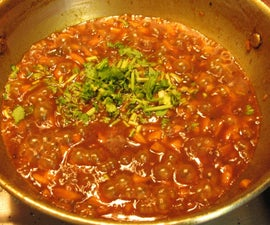 Sweet Orange Rind Stew