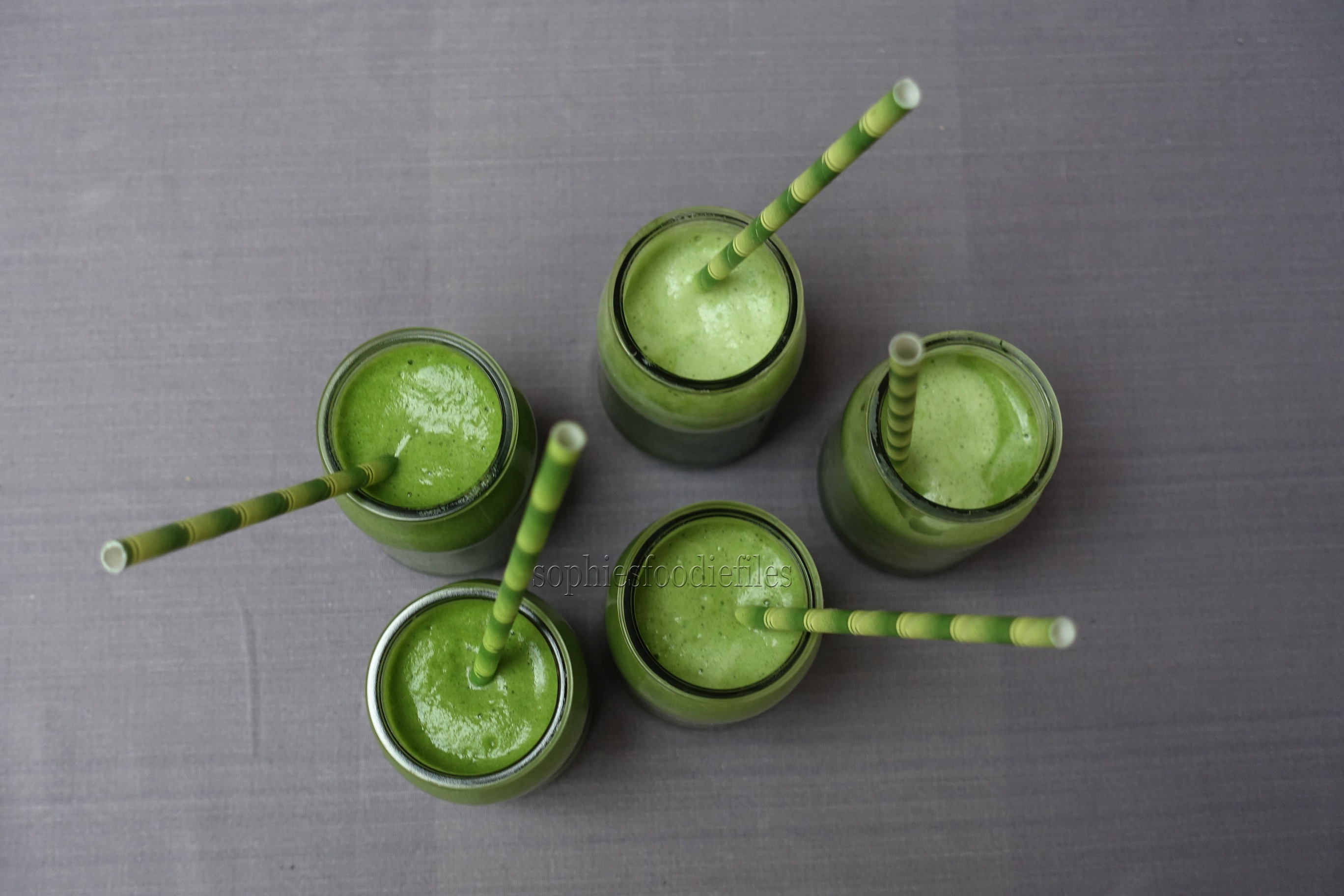 Picture of 4-ingredient Green Smoothies