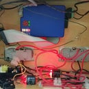 Web Based, Raspberry pi controlled, 2 channel relay mains control box.