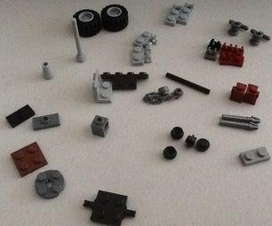 Lego Anti-tank Gun (PaK 40)