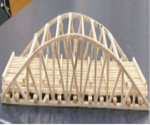 Arch Truss Bridge 7 Steps With Pictures Instructables