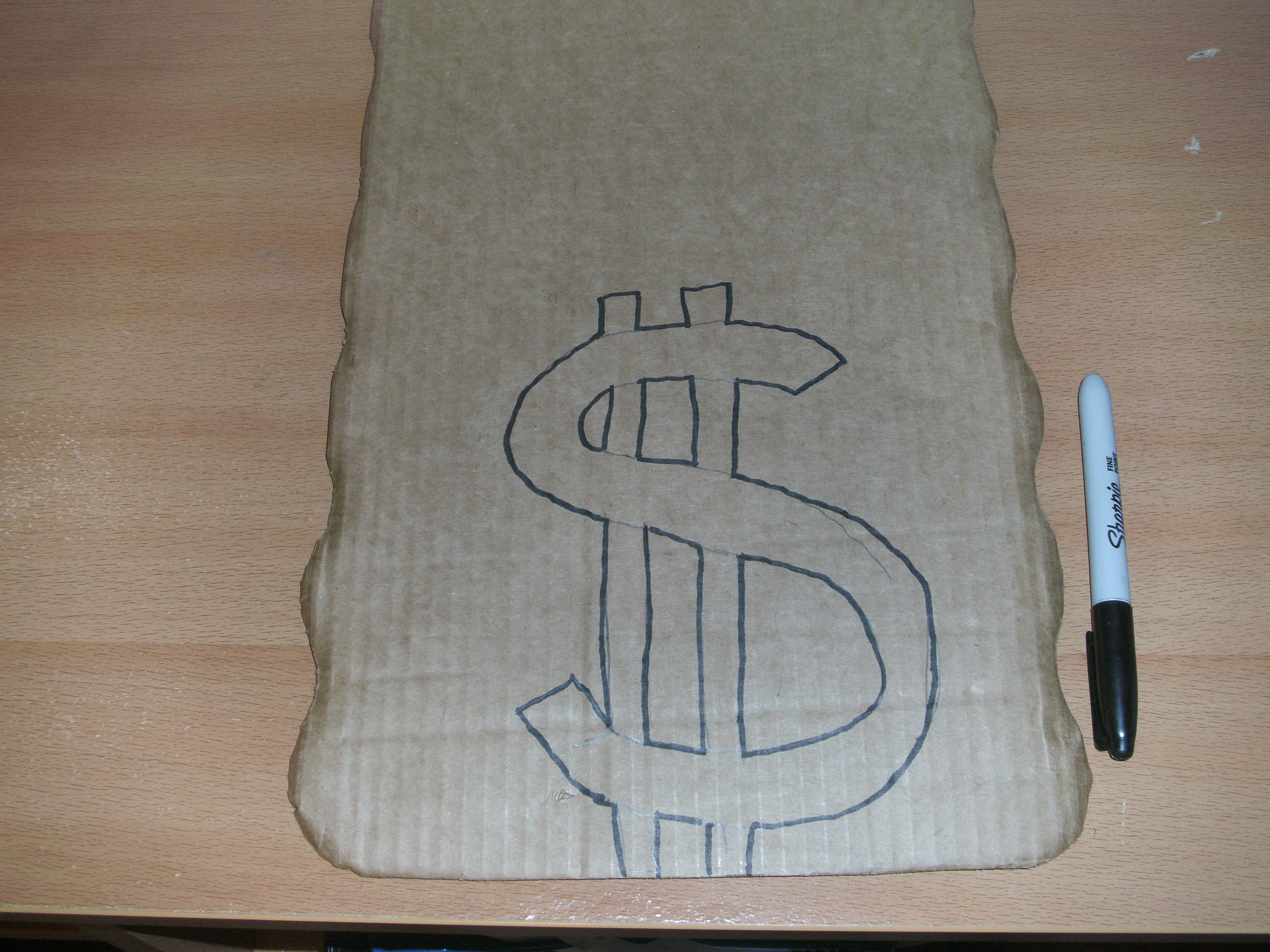 Picture of Draw Dollar Sign