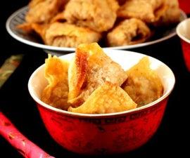Deep Fried Cantonese Dumplings