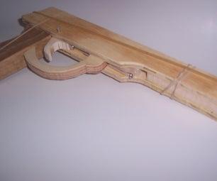 Semi Auto Rubber Band Gun