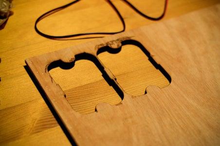 Cutting the Wood Frames