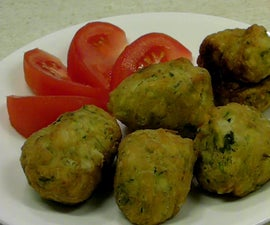 How to Make Zucchini Fritters  (croquettes De Courgettes)