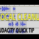 Cleaning Up Vocals - Audacity Quick Tip