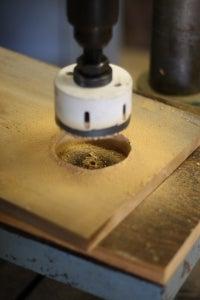 Finish Cutting the Hole