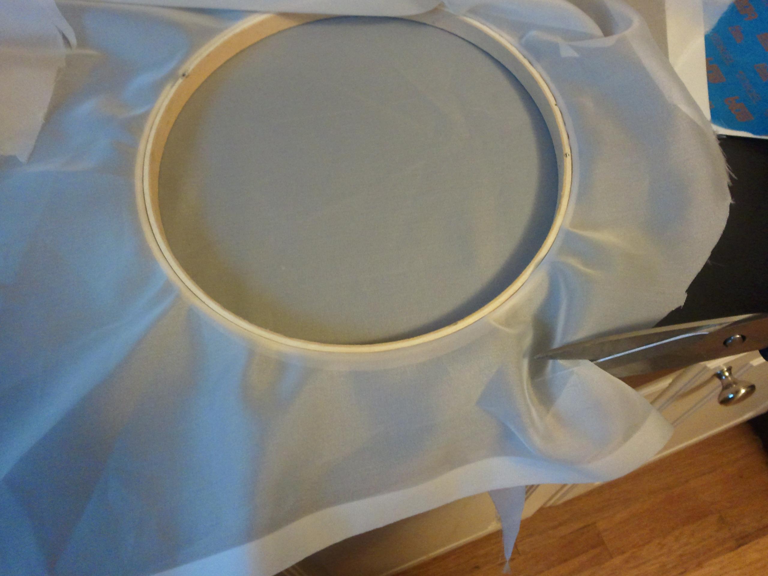Picture of Prepare Fabric Screen
