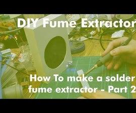 DIY PVC Solder Fume Extractor