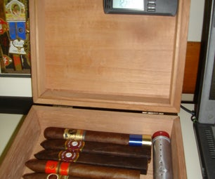 Cigar Tube Humidifier