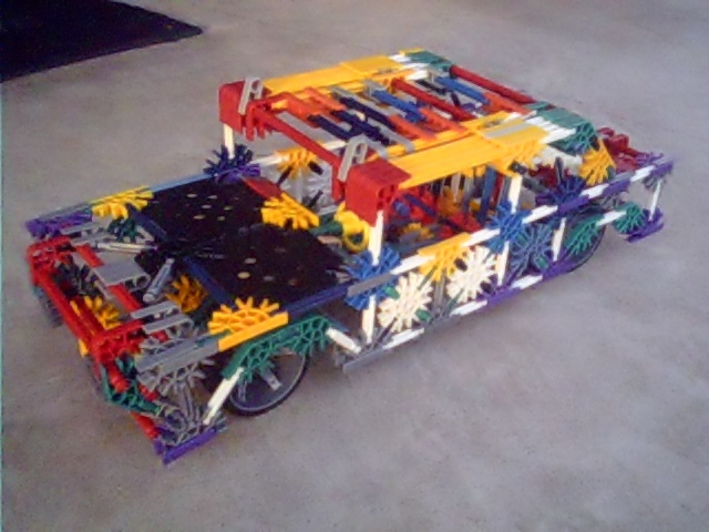 Picture of Knex Rusty Chevy Bel-Air