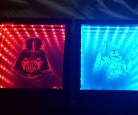 Budget Star Wars USB powered Infinity Mirror