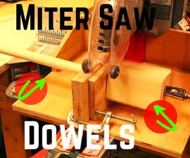Miter Saw Dowel Rods