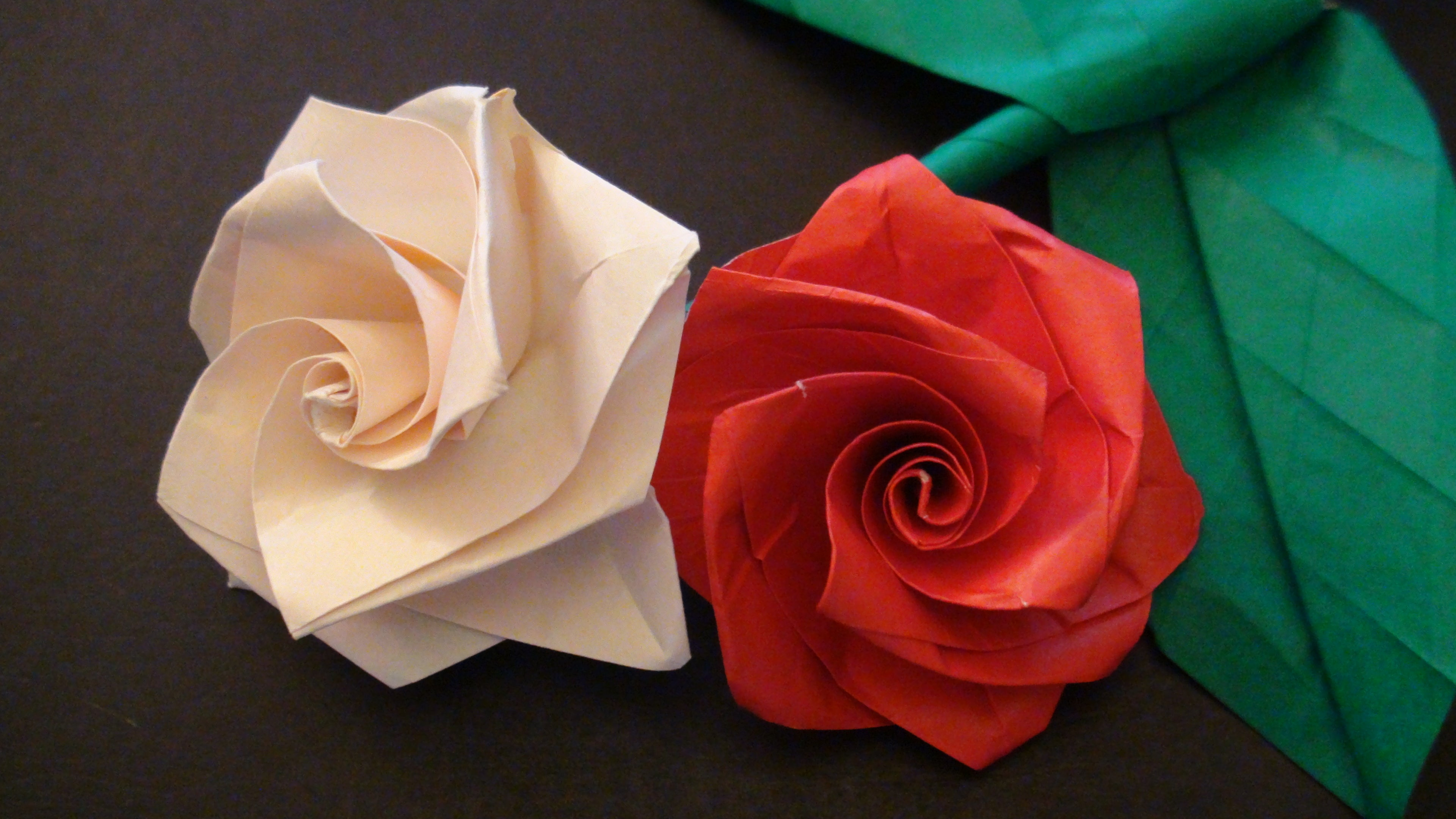 How to make the Origami Rose by Jo Nakashima | Origami flowers ... | 2160x3840