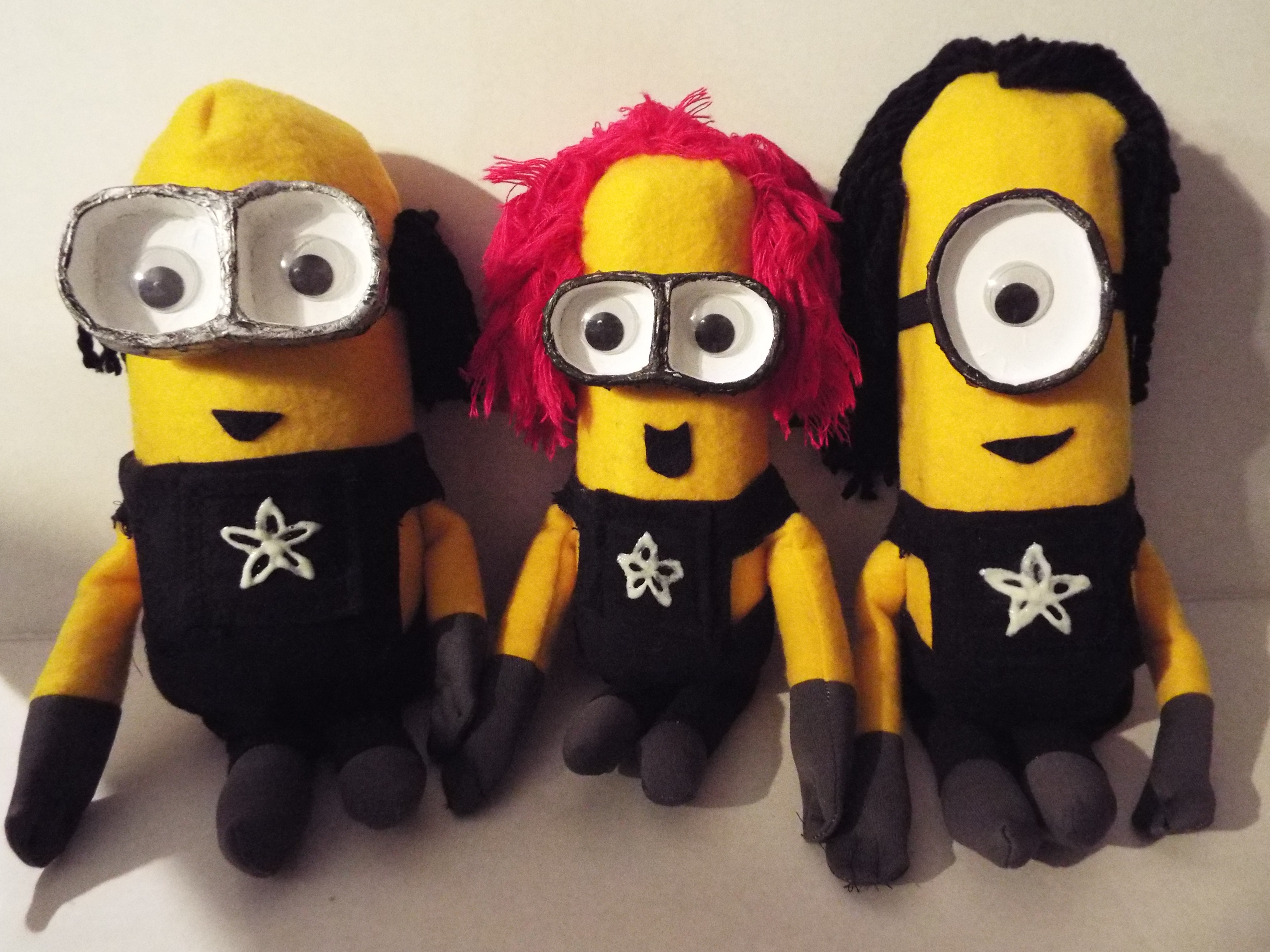 Picture of Ask an Engineer Despicable Me Minions Style Puppets