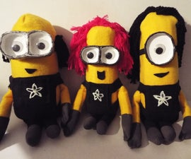 Ask an Engineer Despicable Me Minions Style Puppets