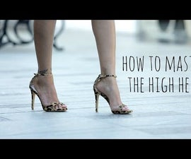 How to Walk In High Heels Without Tripping
