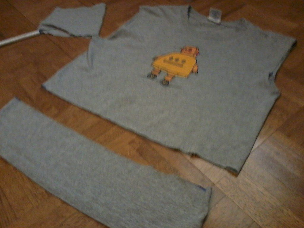 Picture of Cut Off Sleeves and Bottom