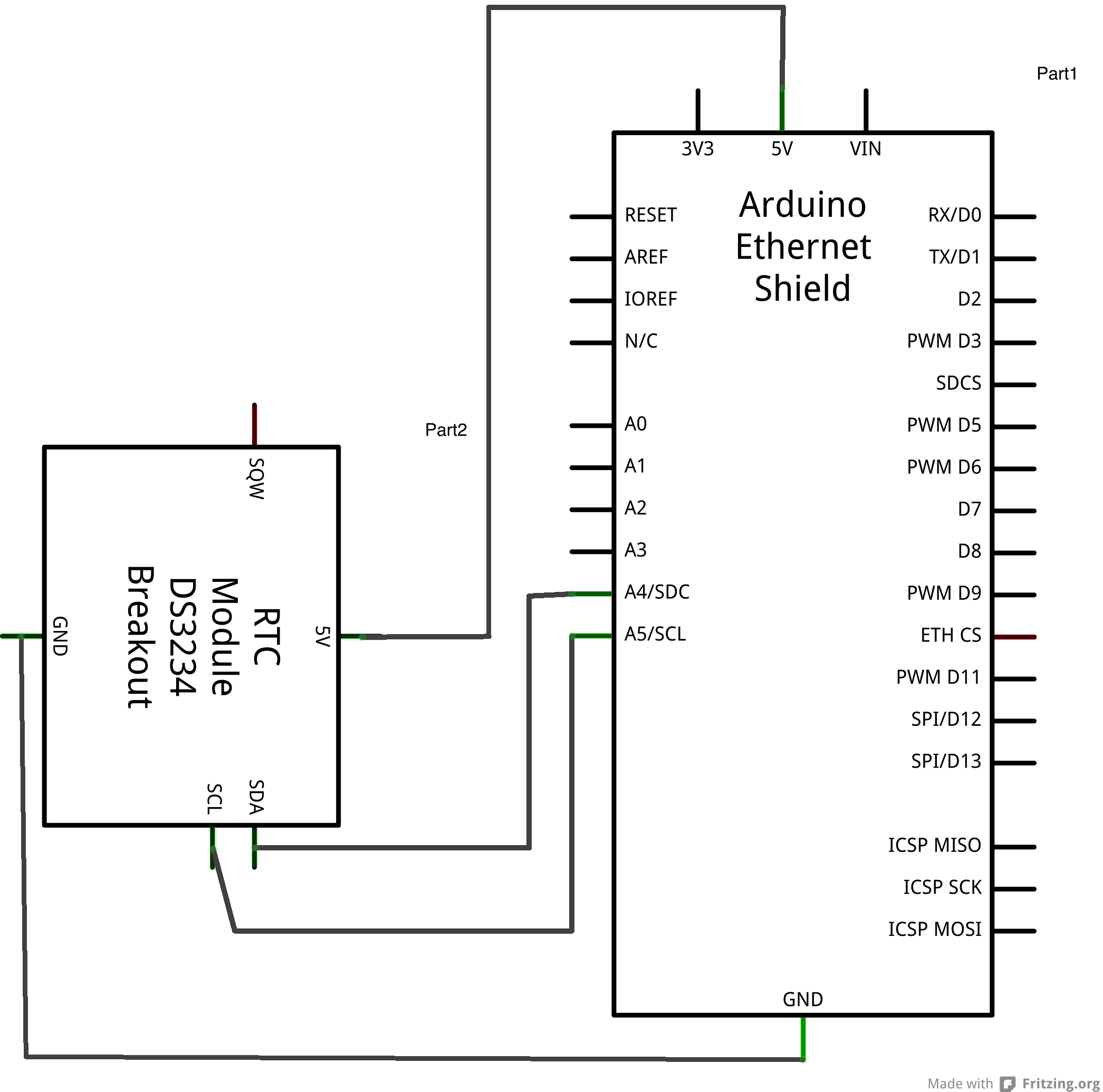 Picture of Wiring Up the Arduino