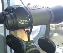 Binocular Lens Cap Tether